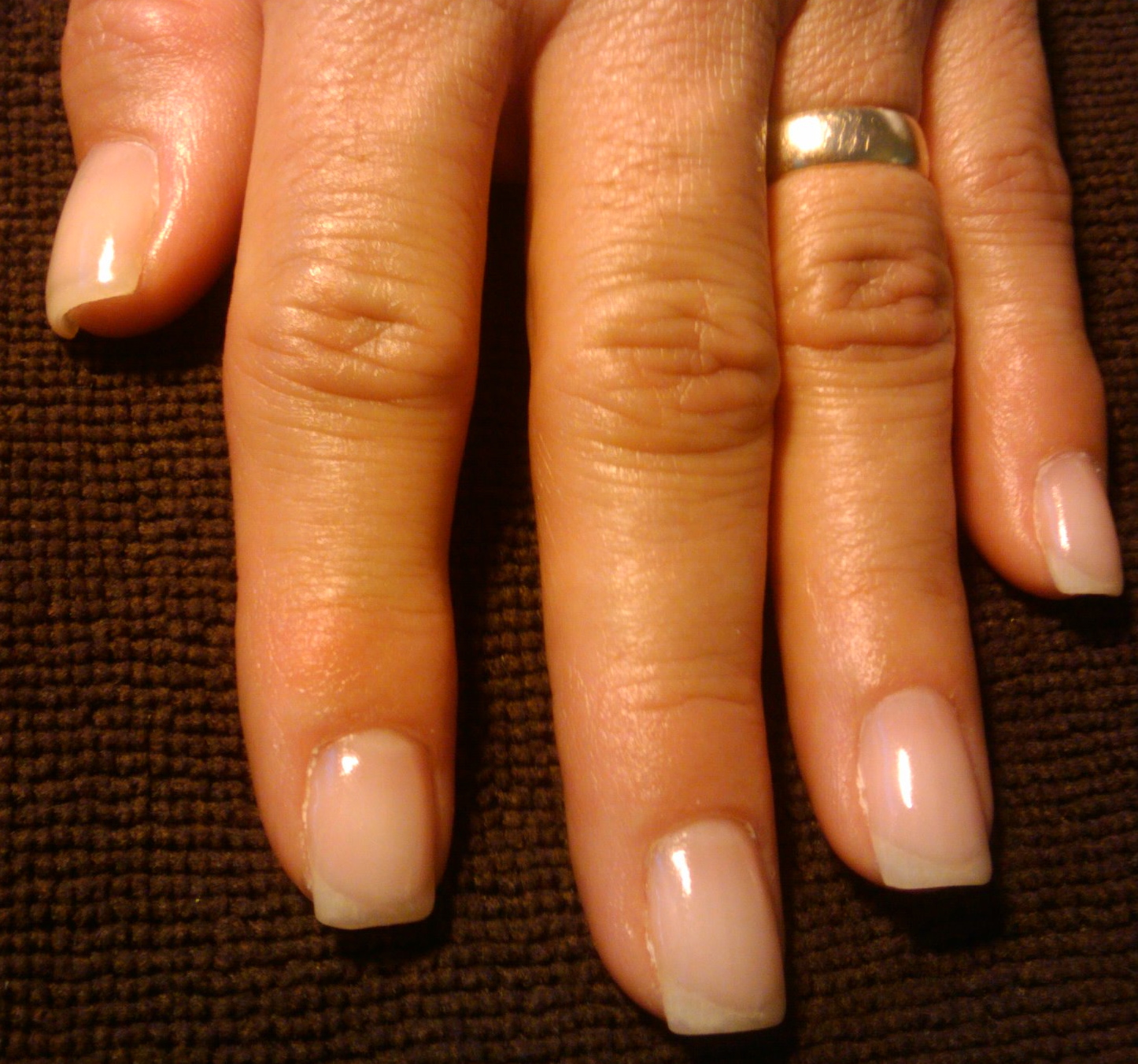 gel overlay on real nails photo - 1