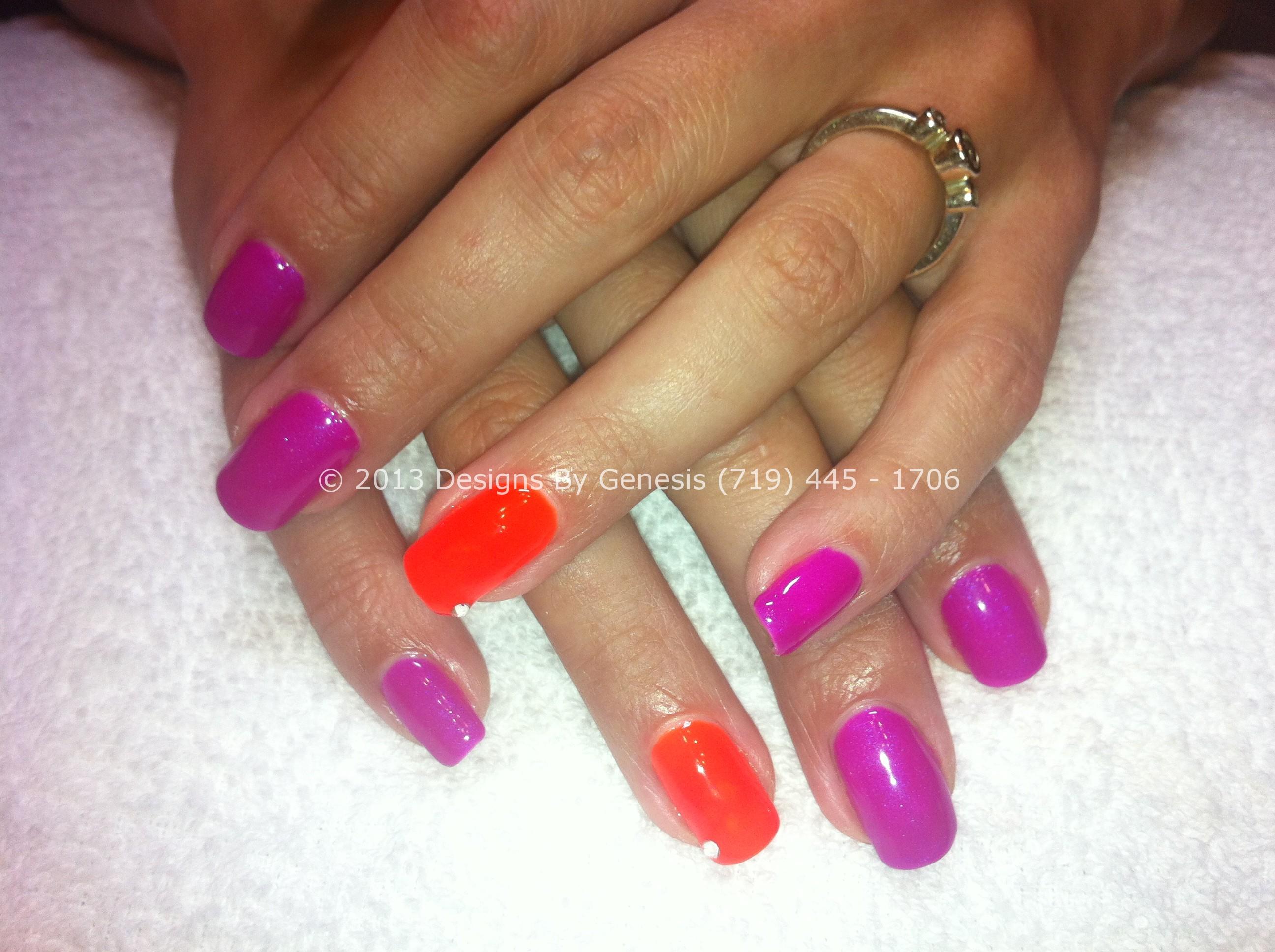 Gel polish on natural nails - Expression Nails