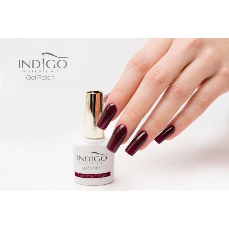 gel polish on top of acrylic nails photo - 2