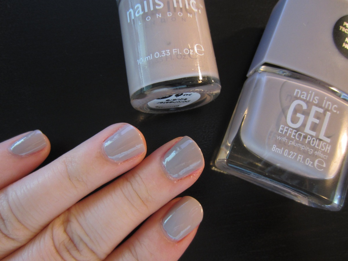 Gel square nails - Expression Nails
