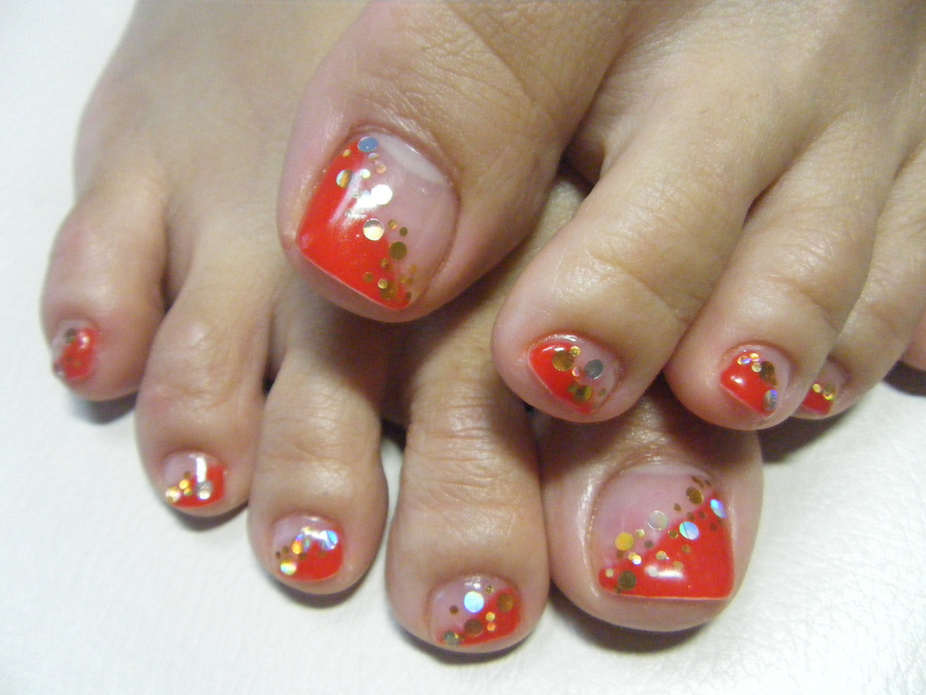 gel toe nails photo - 2