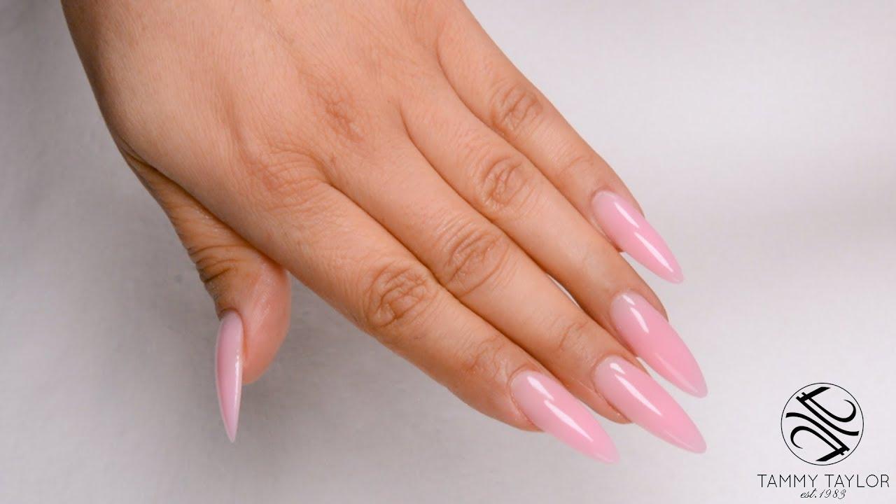 gel v acrylic nails photo - 2