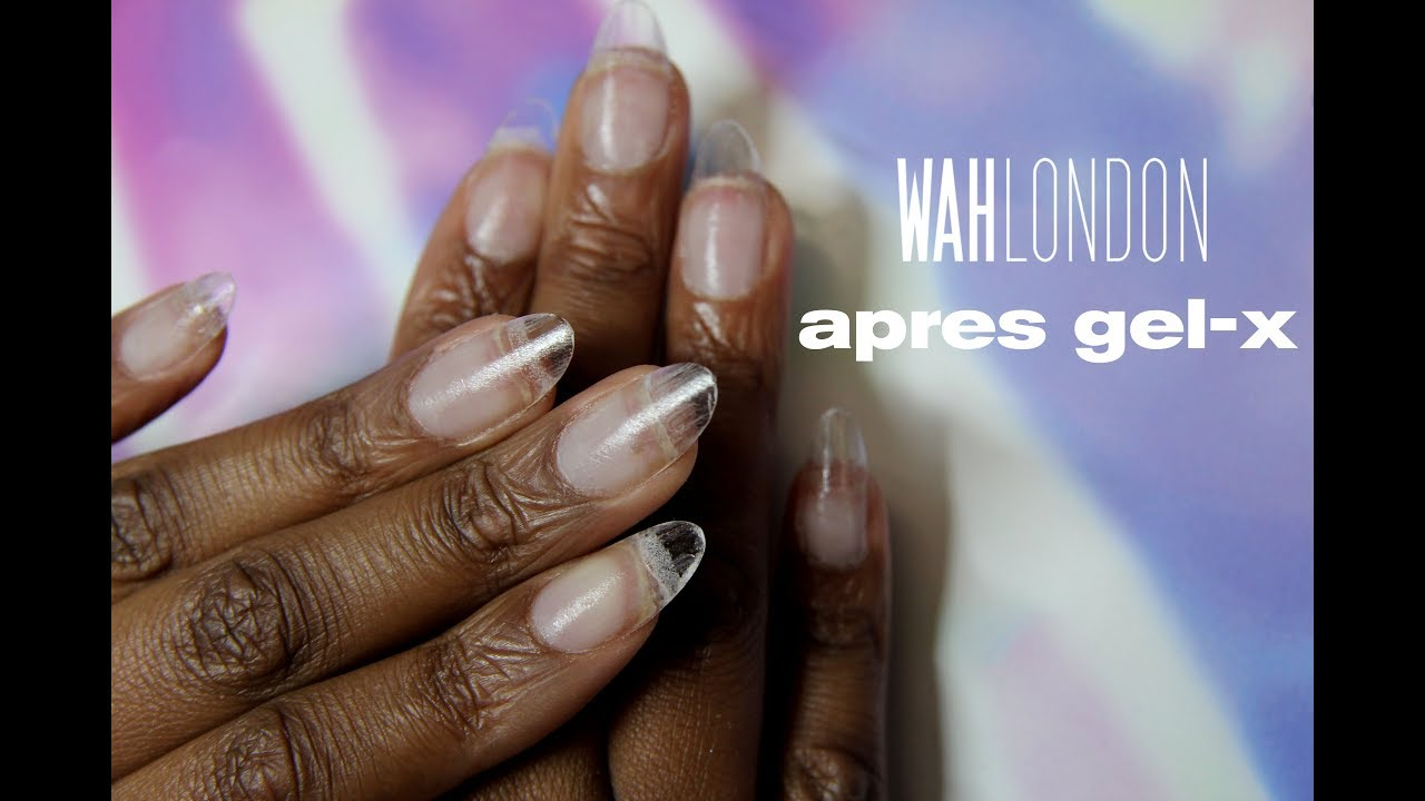 gel x nails london photo - 2