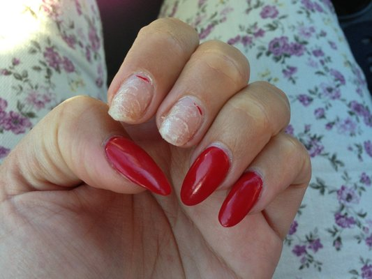 Getting acrylic nails off - Expression Nails