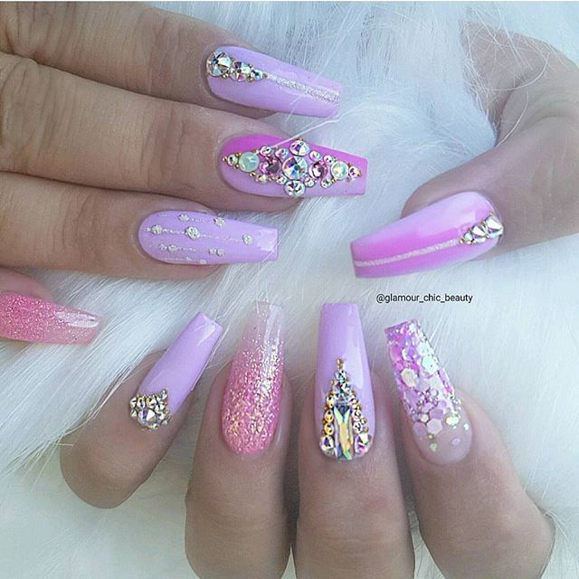 glamour coffin nails photo - 1
