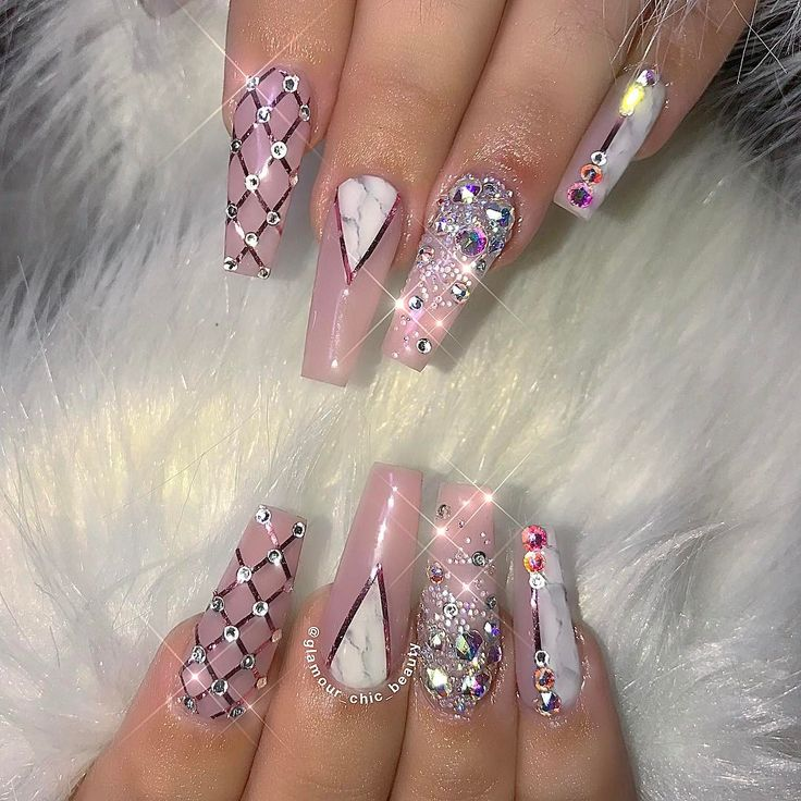 glamour coffin nails photo - 2
