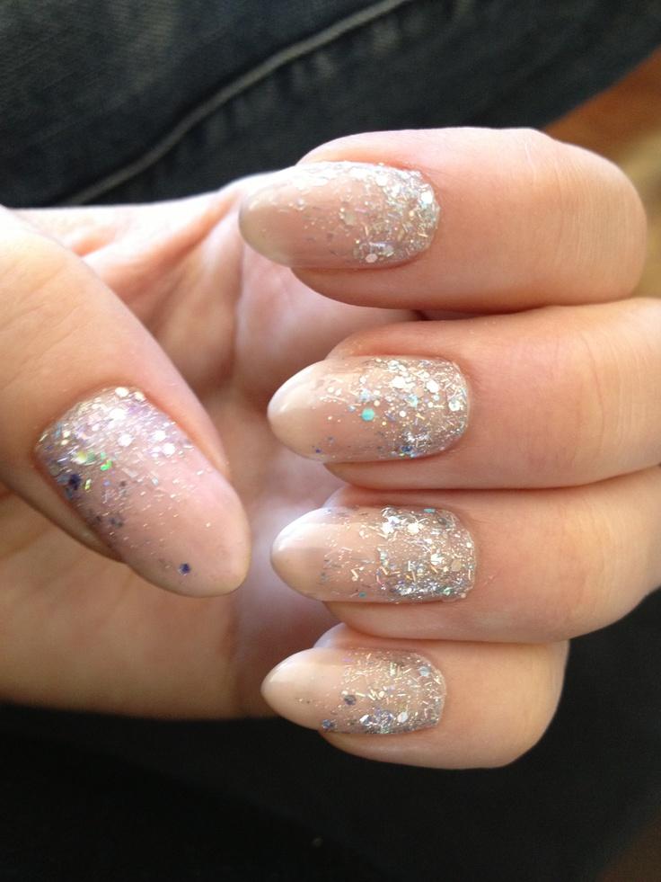 glitter nails stiletto photo - 2