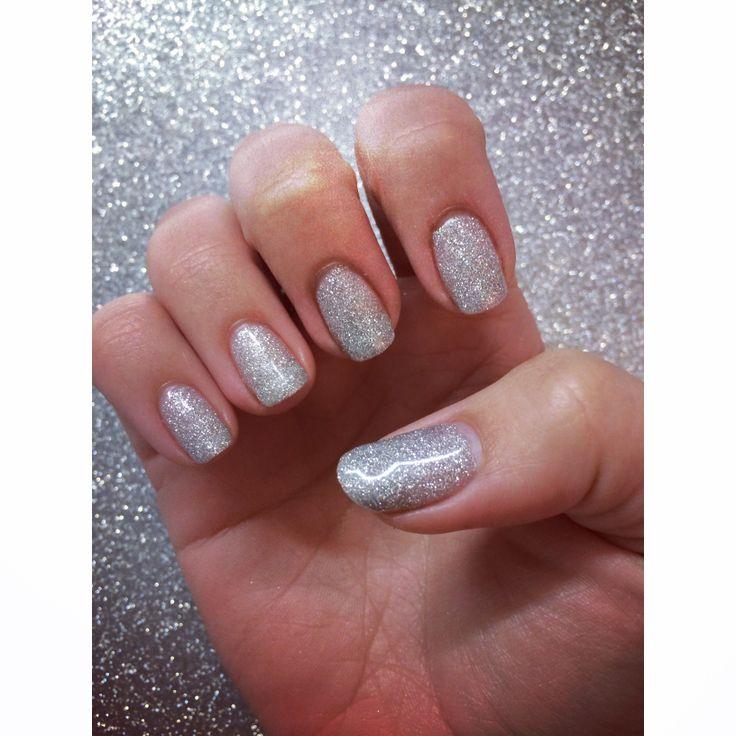 grey acrylic nails photo - 2