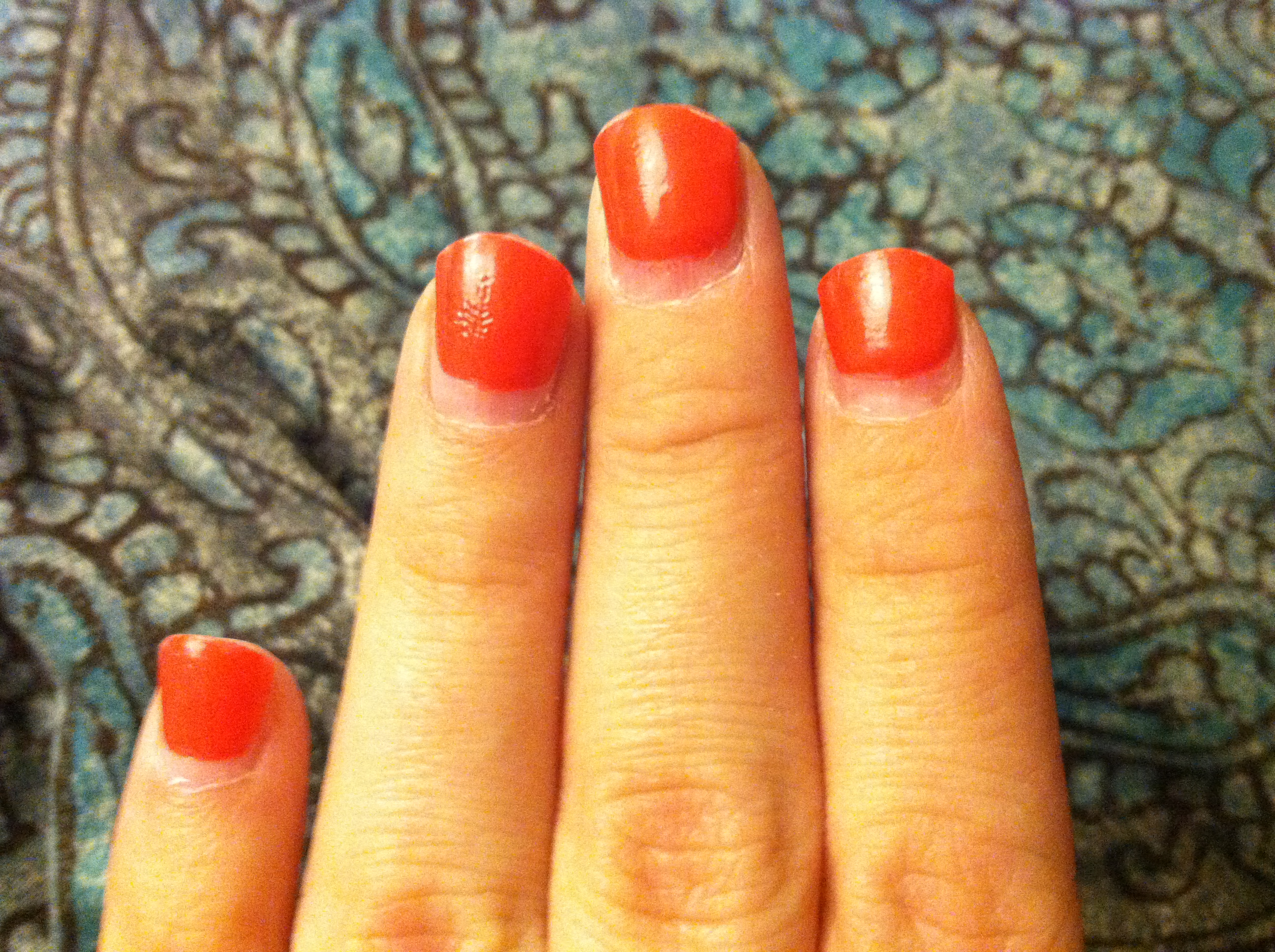 grown out gel nails photo - 1