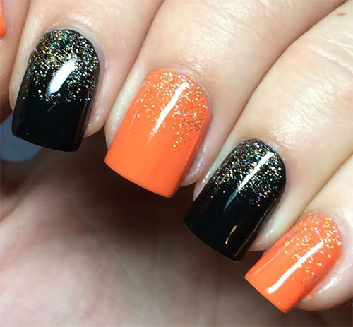 Halloween gel nails - New Expression Nails