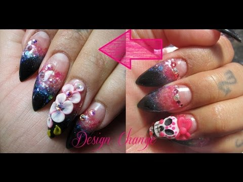 how acrylic nails are filled photo - 2
