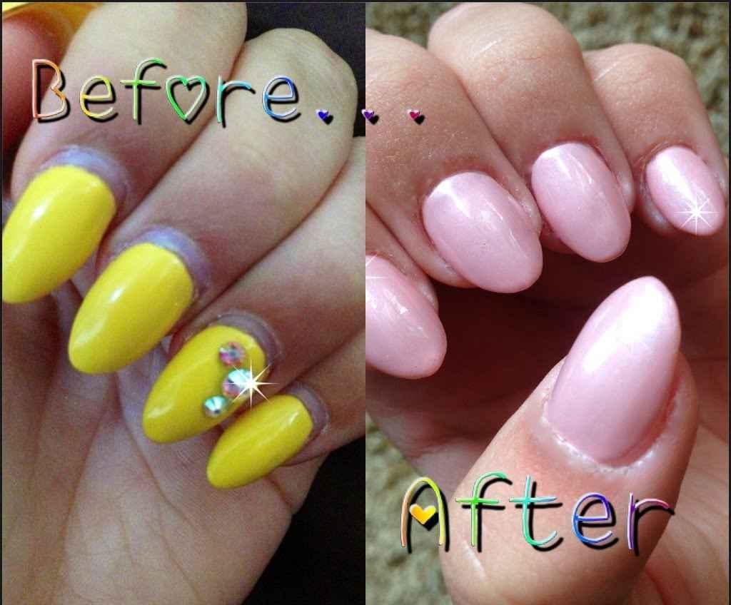 how do i get acrylic nails off photo - 1