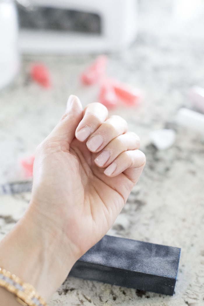 how do you apply gel nails photo - 1