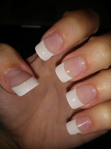how long can gel nails be left on photo - 2
