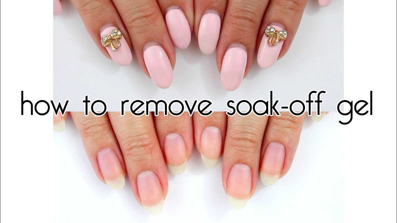 how long do gel nails take to soak off photo - 1