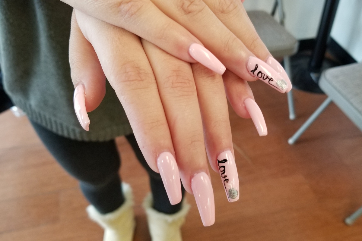 how long does it take to get a full set of gel nails photo - 1