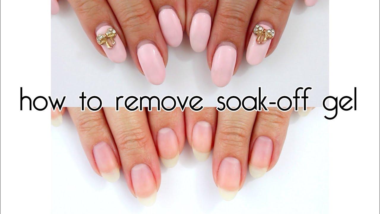 how long to soak gel nails photo - 1