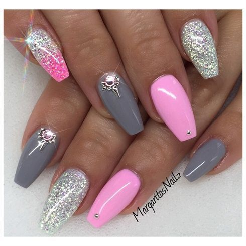 how much are coffin acrylic nails photo - 2