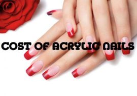 how much money to acrylic nails cost photo - 1
