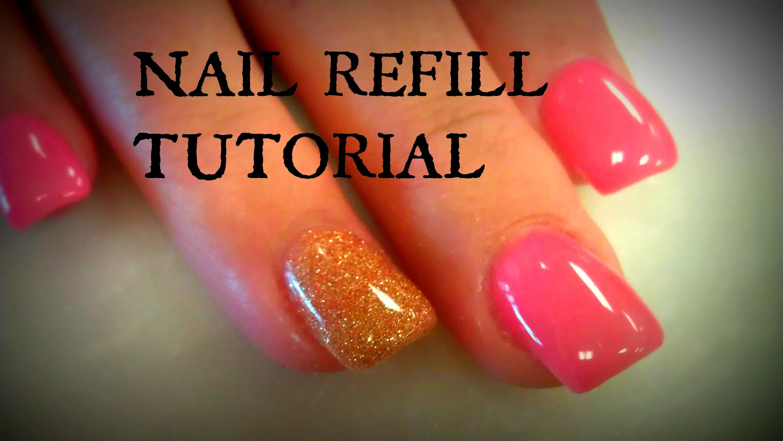 how often do you refill acrylic nails photo - 1