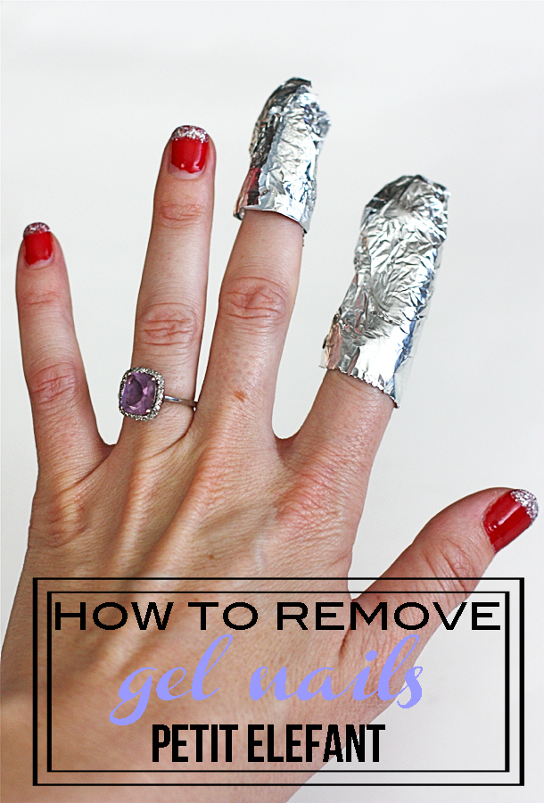 how remove gel nails photo - 1
