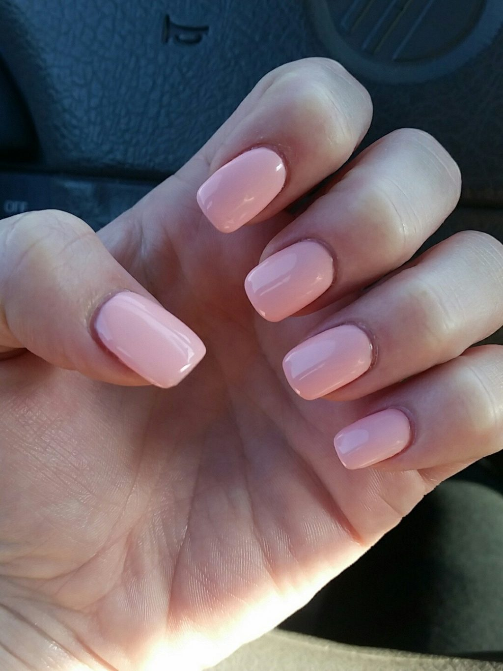 how short can acrylic nails be photo - 1
