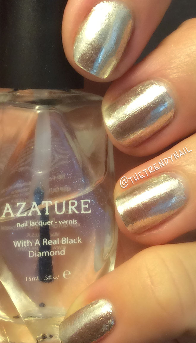 how to achieve chrome nails without gel photo - 1