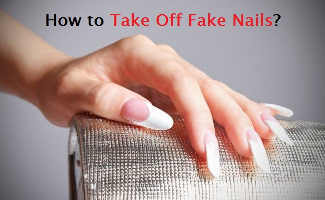 how to acrylic nails off photo - 1