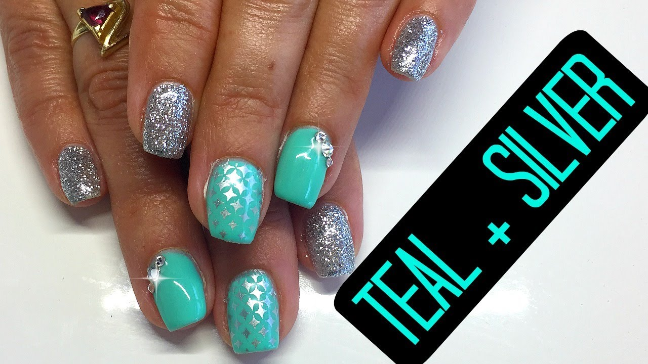 how to add gems to gel nails photo - 1