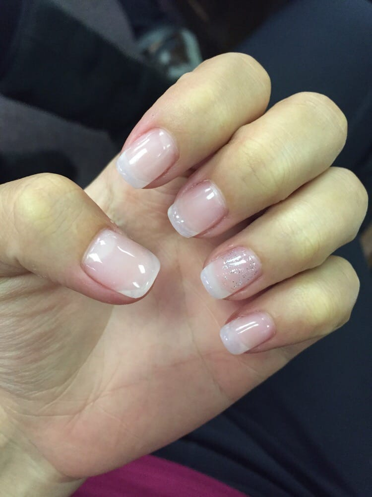 how to apply acrylic overlay on natural nails photo - 1