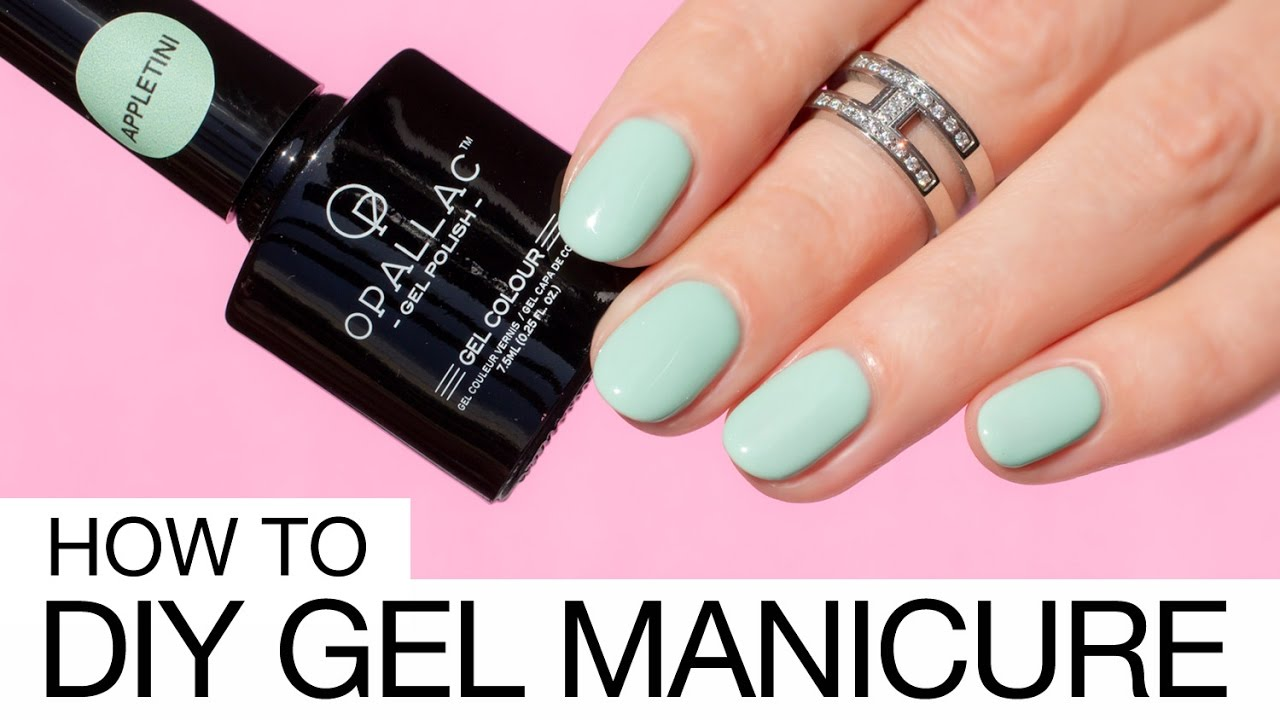 how to apply gel nails professionally photo - 2