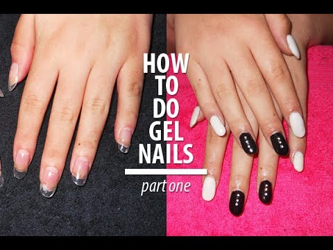 how to apply gel nails with tips photo - 1