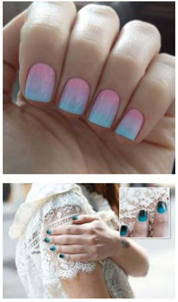 how to create ombre on gel nails photo - 2