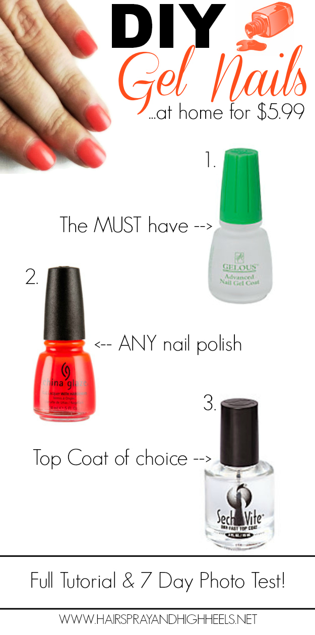 how to diy gel nails photo - 1