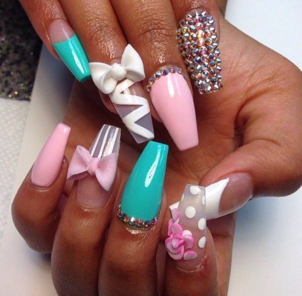 how to do a full set of gel nails at home photo - 2