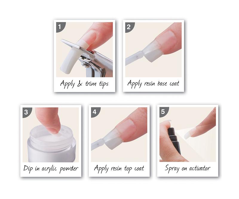 how to do acrylic nails without acrylic powder photo - 2