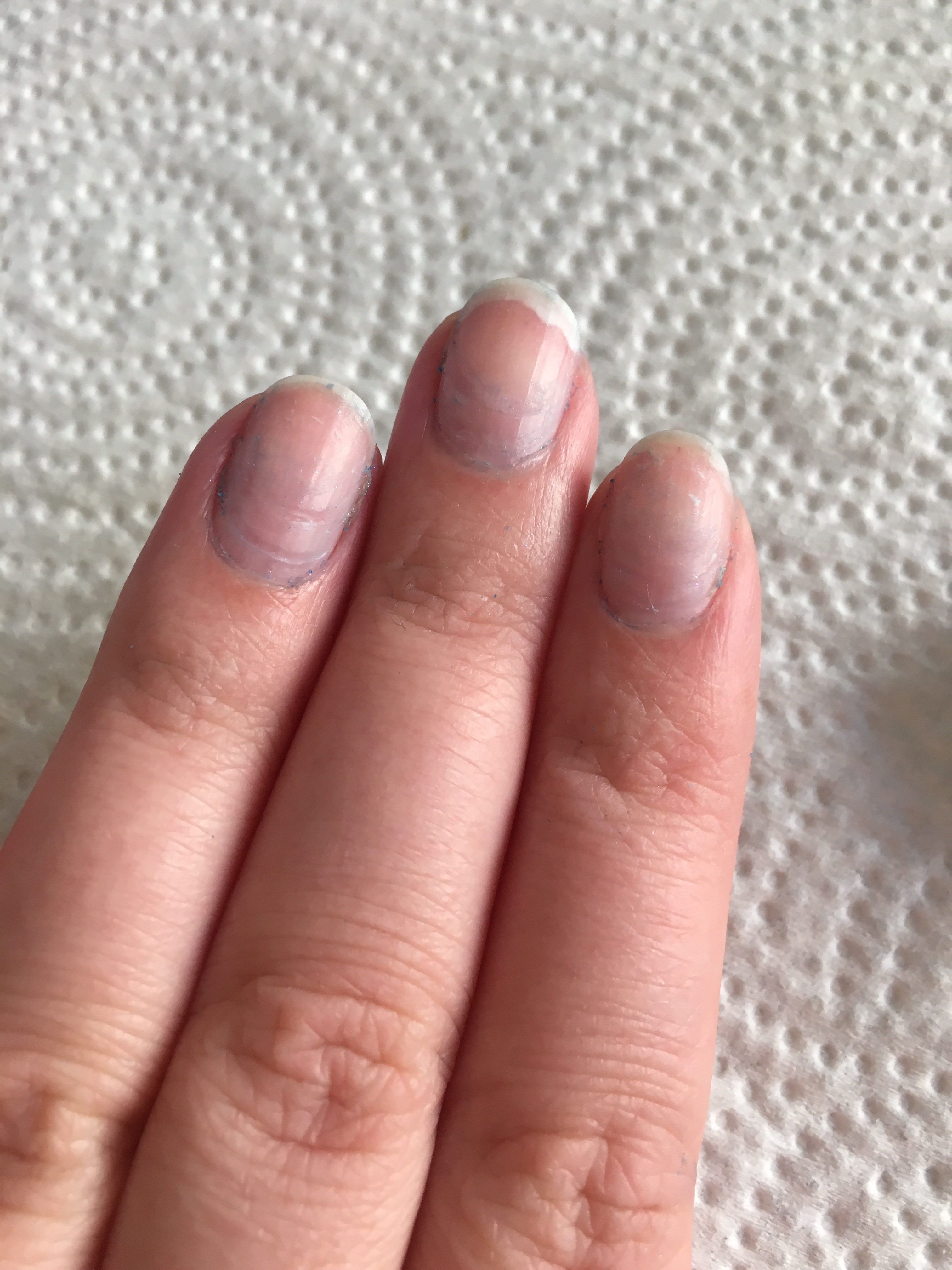 how to do acrylic nails without filing nails down photo - 1