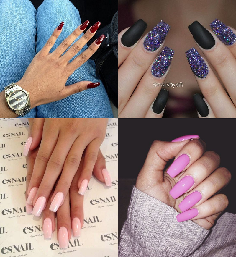 how to do acrylic nails without filing nails down photo - 2