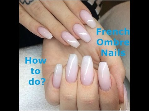 how to do french ombre nails with gel polish photo - 1