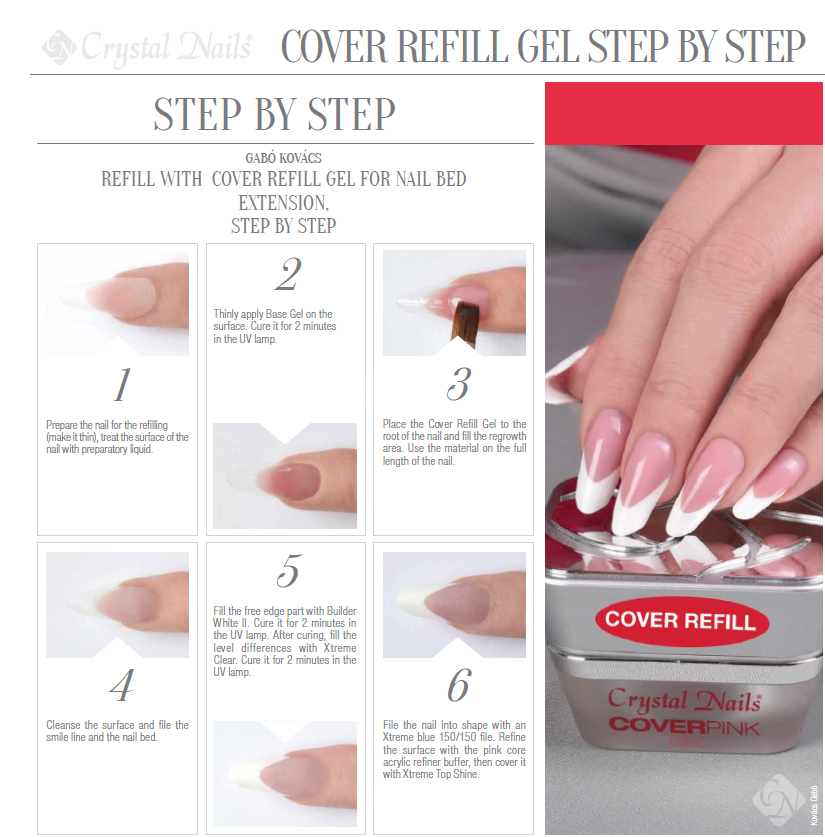 how to do gel nails at home step by step photo - 2