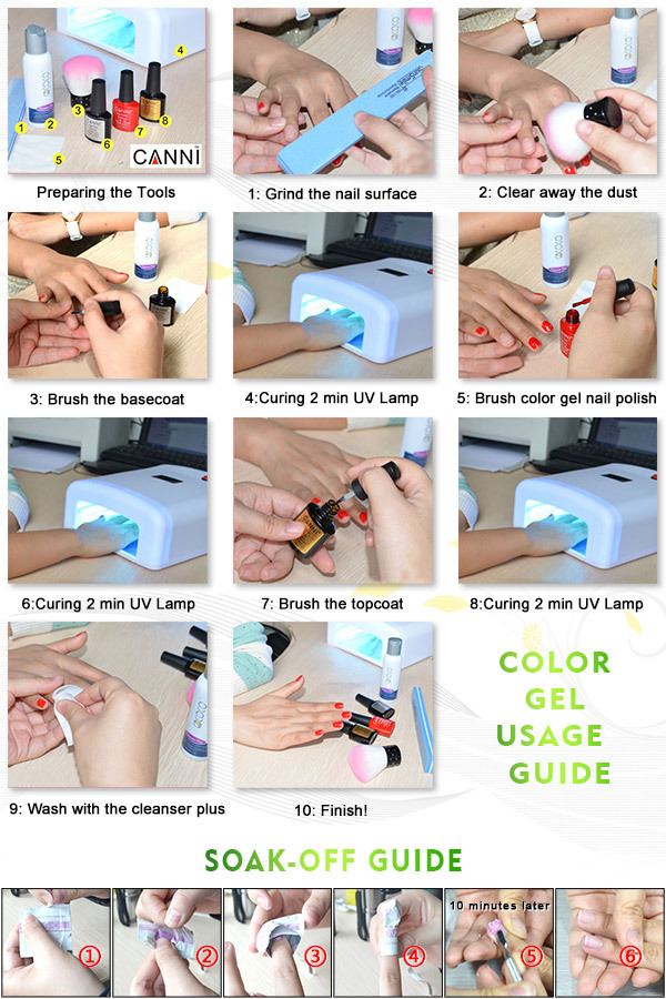 How to do gel nails extensions step by step - New Expression Nails