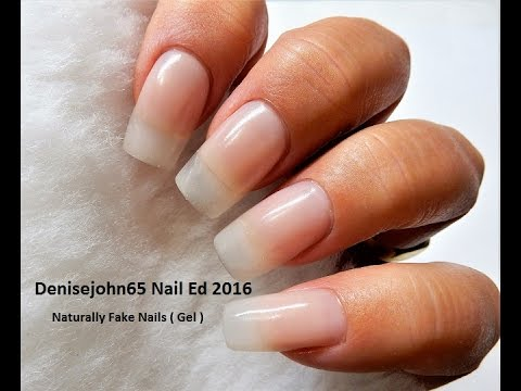 how to do gel nails with real gel photo - 1