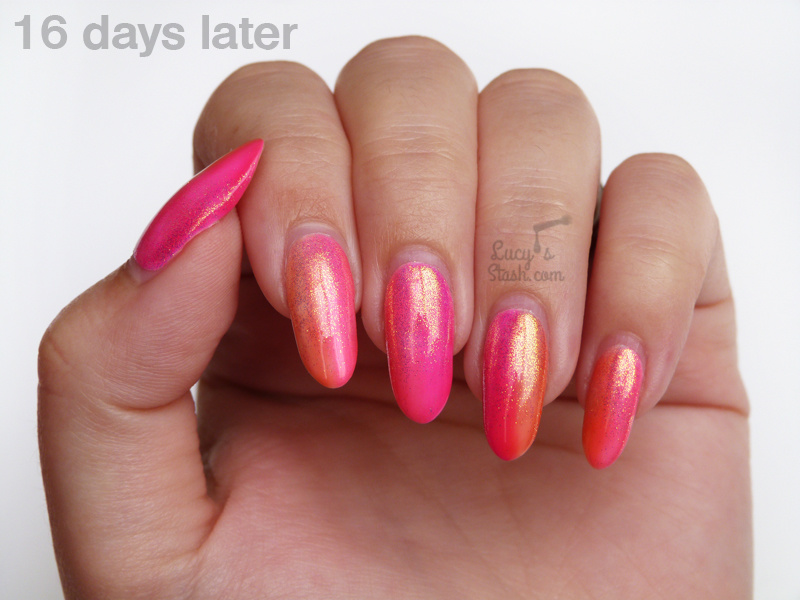 how to do gradient nails with gel polish photo - 2
