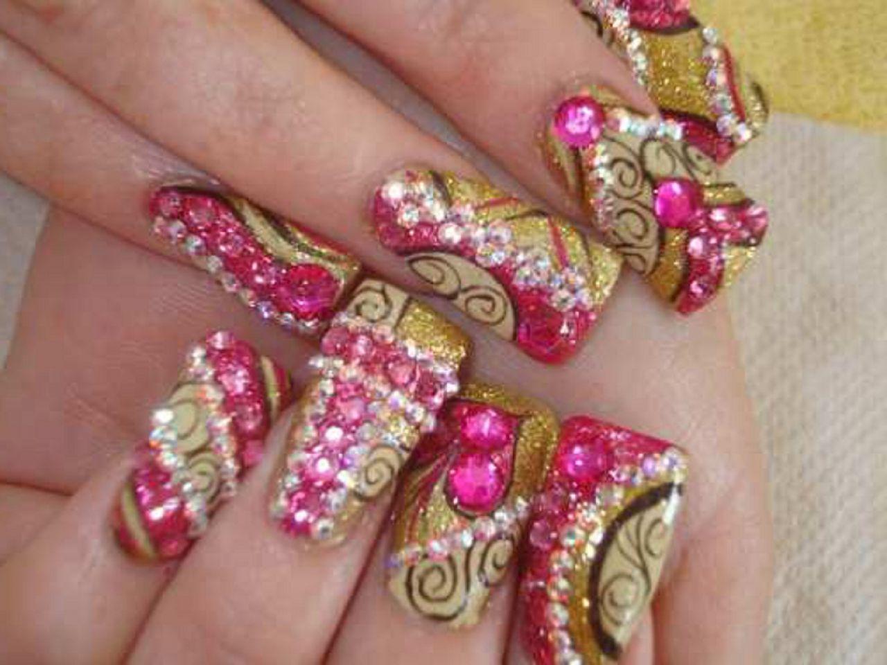how to do i heal my broken nails from having acrylic nails photo - 1