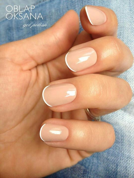 how to do ombre french acrylic nails photo - 2