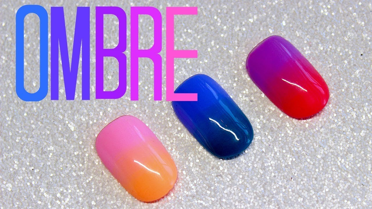 how to do ombre nails with gel polish photo - 1