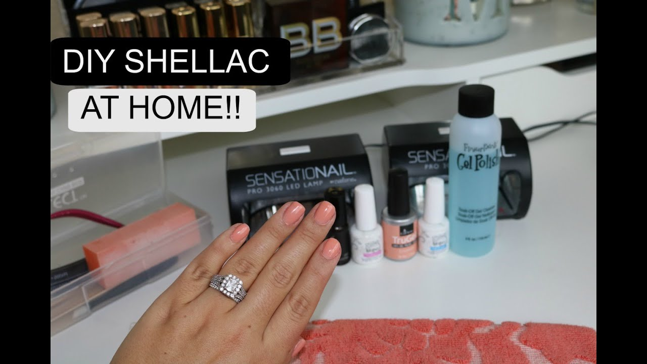 how to do your own hard gel nails photo - 2