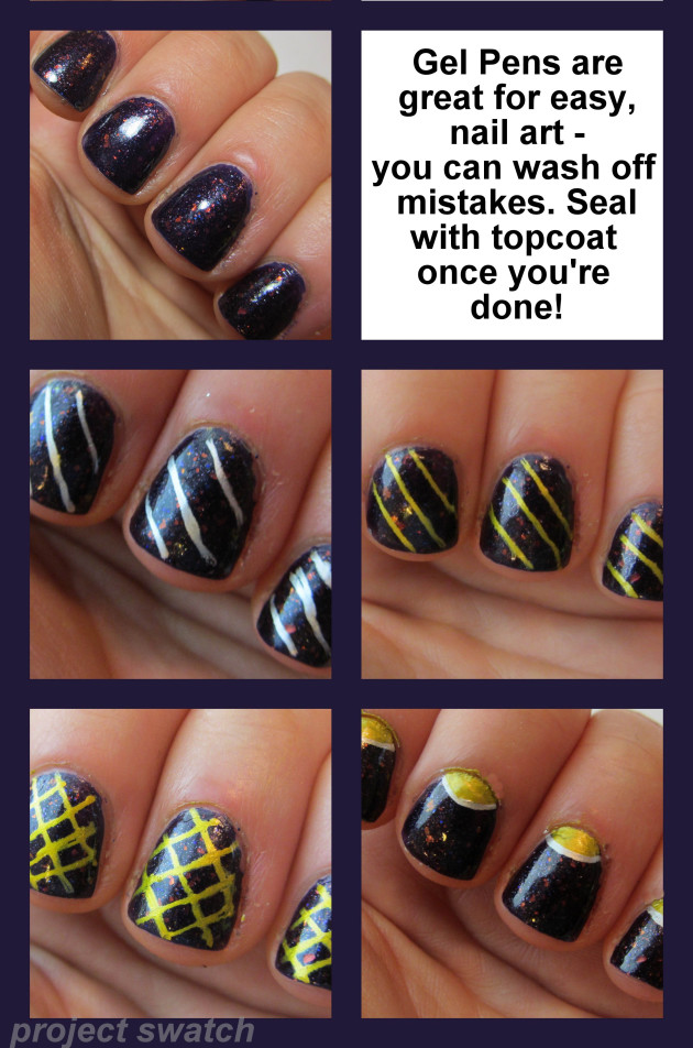 how to dry gel pen ink on your nails photo - 1