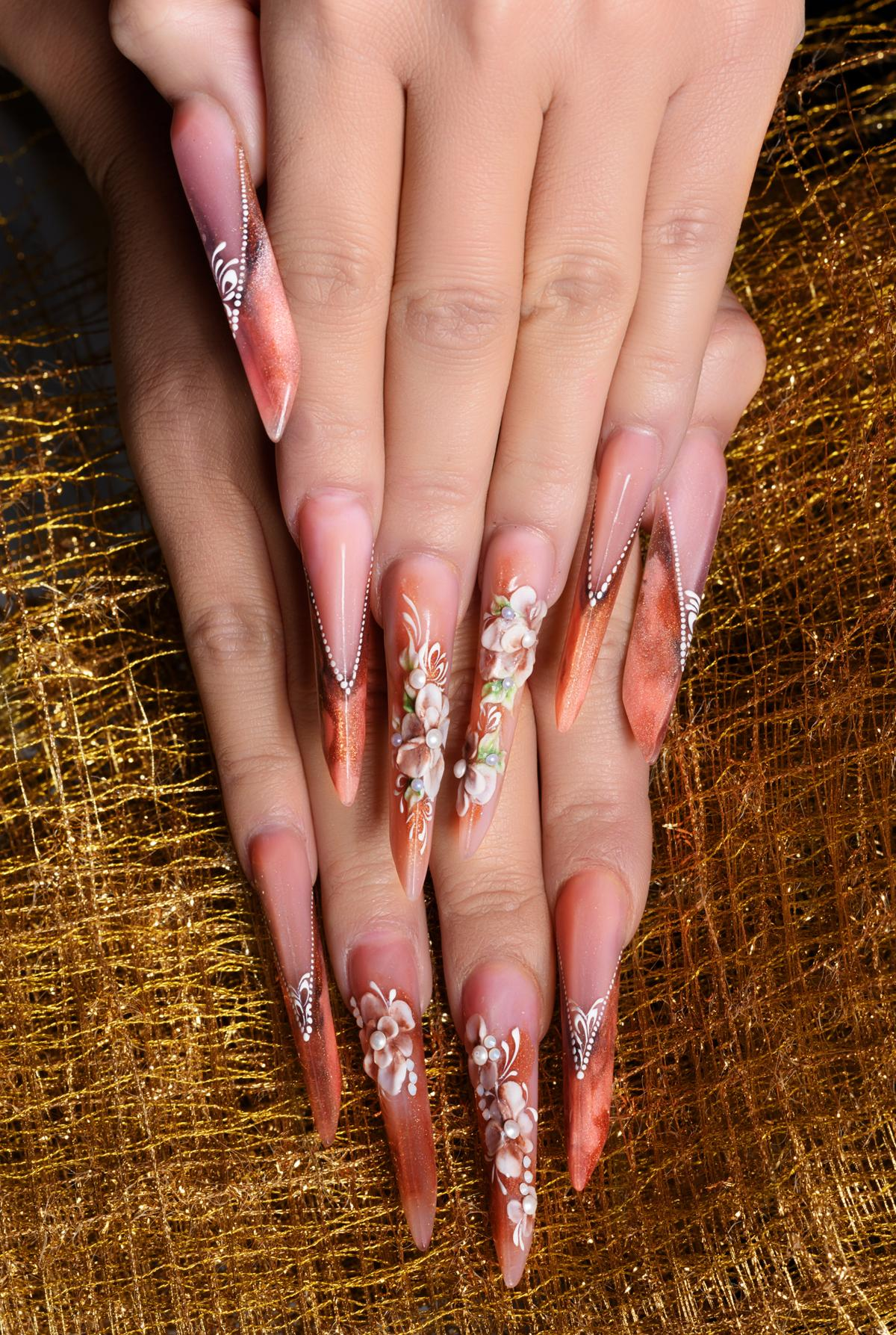 how to easily take off acrylic nails photo - 2