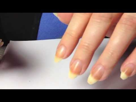 how to file stiletto nails natural nails photo - 1